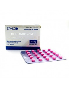 Dianabol / Methandienone - ZPHC - Unit: 100 pills (10 mg/pill)