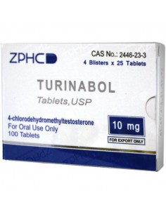 Turinabol - ZPHC - Unit: 100 pills (10 mg/pill)