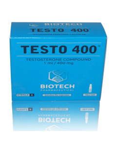 Testosterone 400 / TESTO 400 - Unit: 10 x 1 ml Amps (400 mg/ml)