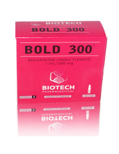 Boldenone / BOLD 300 - Unit: 10 x 1 ml Amps(300 mg/ml)