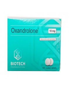 Anavar / Oxandrolone - Unit: 100 pills (10 mg/pill)